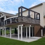 Zook - timbertech pecan deck and porch