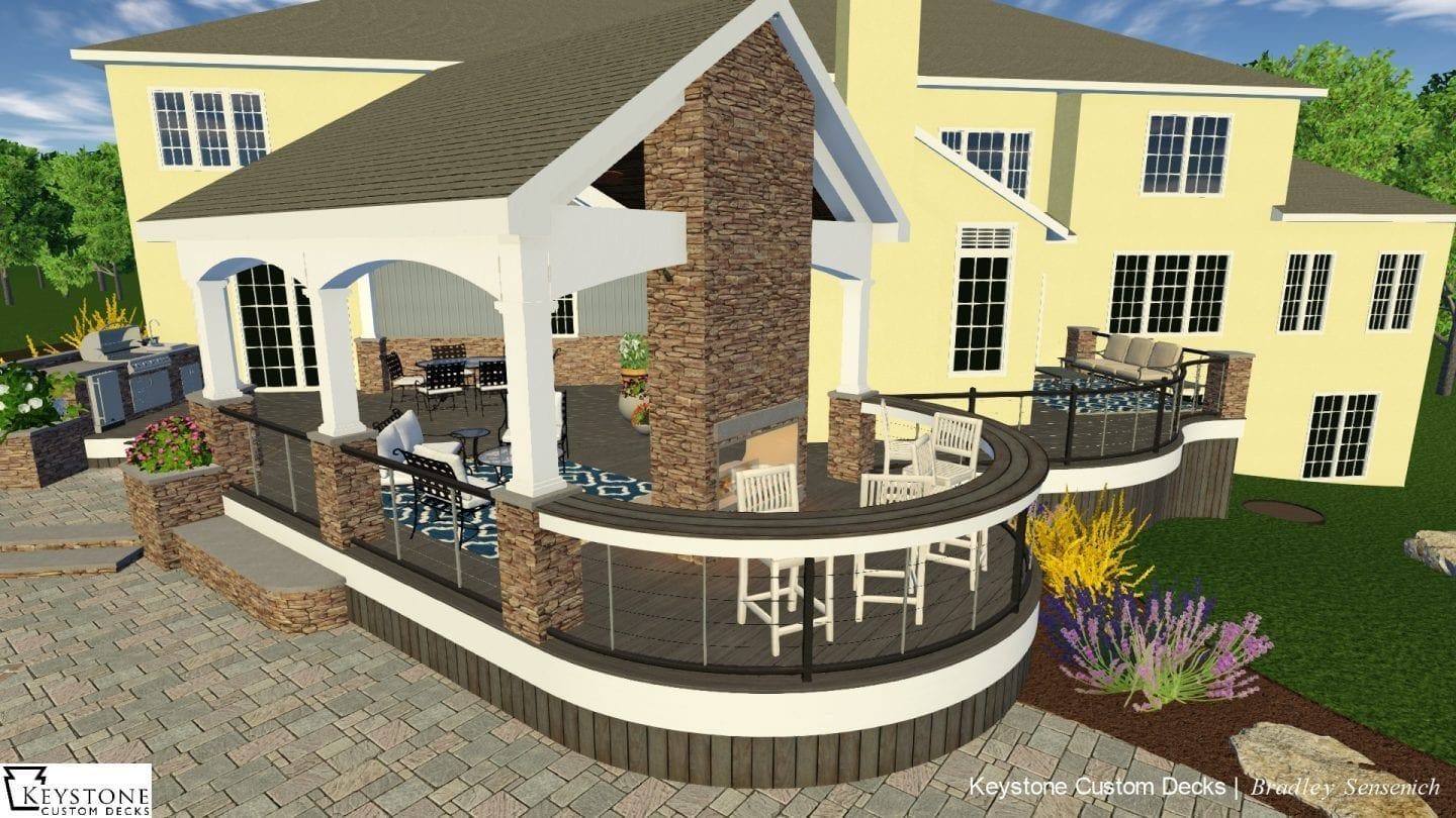 how to design your outdoor living space