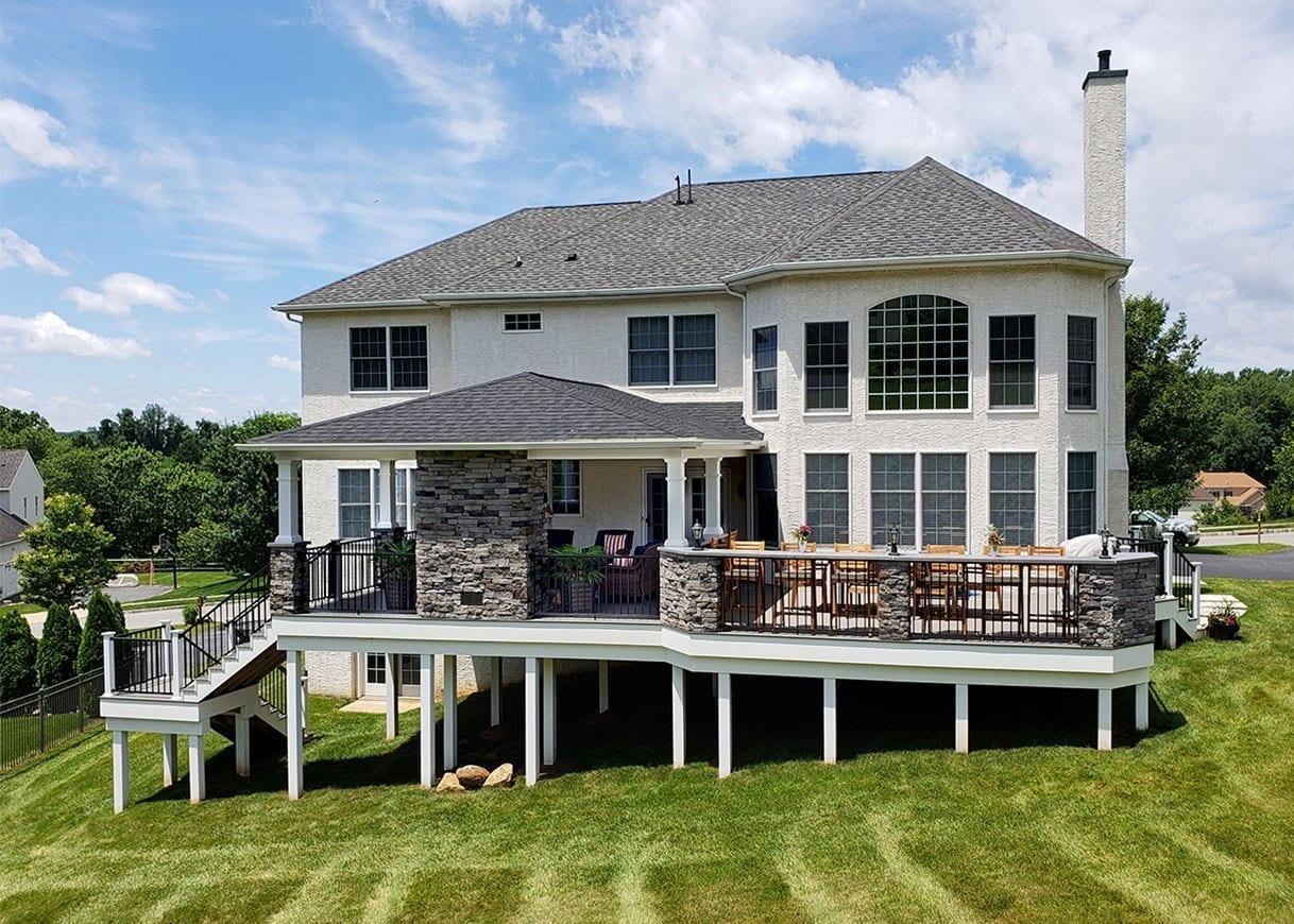 outdoor living space design