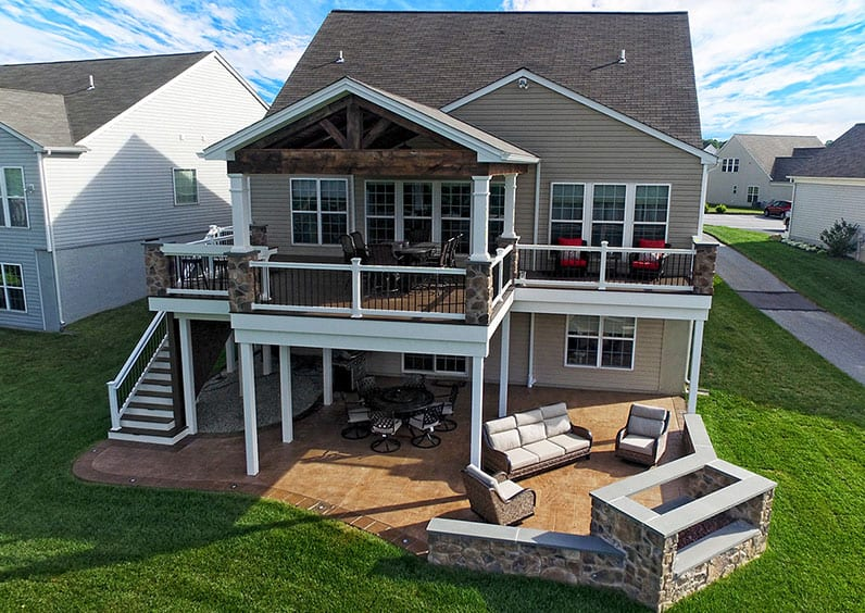 stamped concrete patio surface options