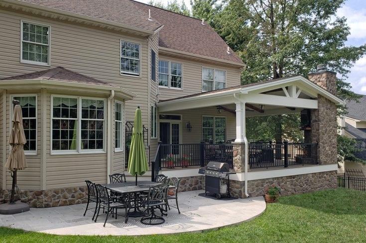 TimberTech Deck / Barnwood Porch / Patio – Lansdale, PA