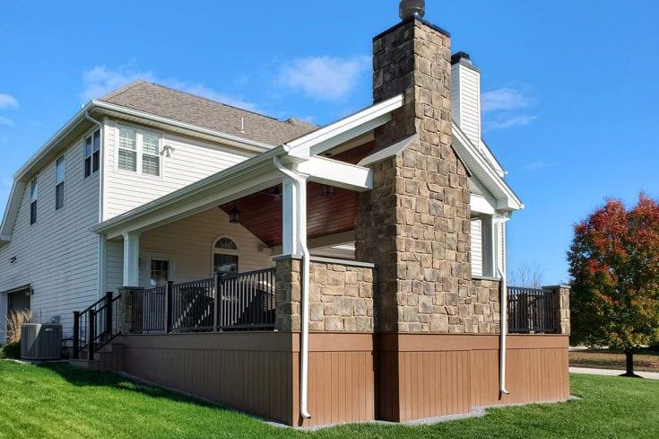 TimberTech Deck / Heritage Porch – Phoenixville, PA