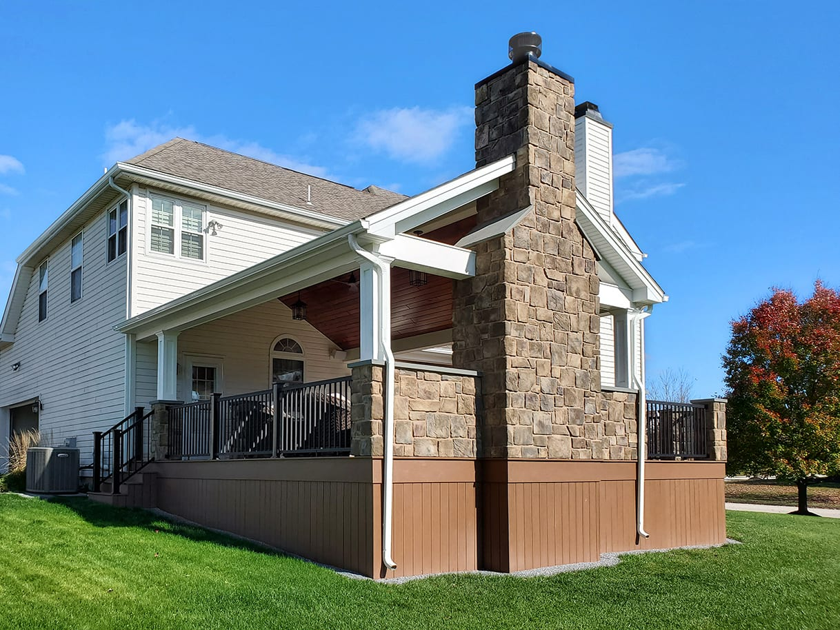 TimberTech Deck / Heritage Porch - Phoenixville, PA 1