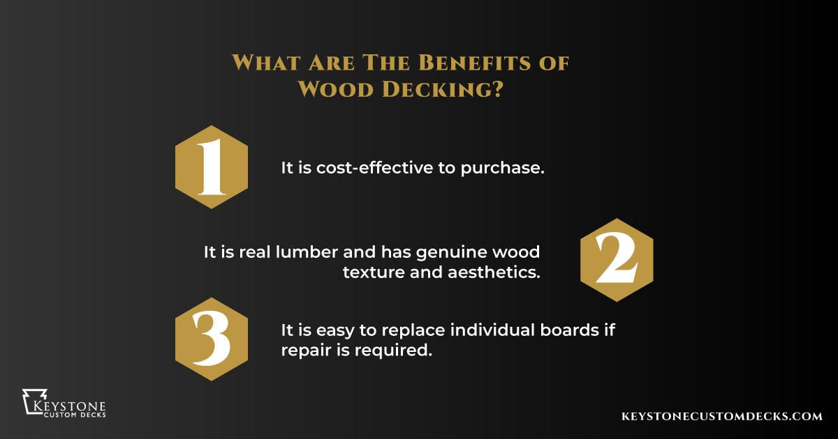 3 benefits of wood decking