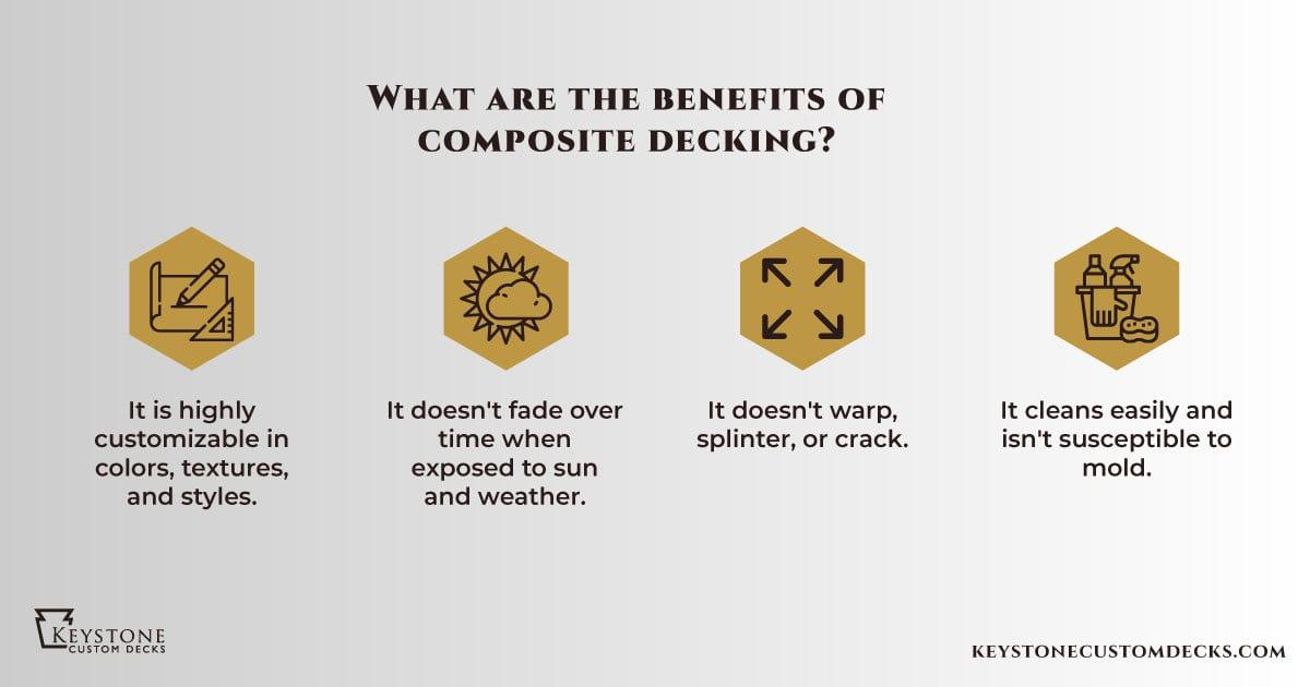 4 benefits of composite decking