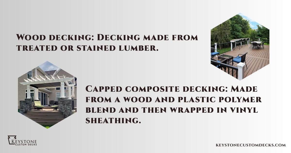 differences between wood and composite decking