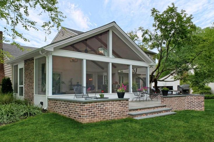 Screened Porch / Flagstone Patio – Broomall, PA