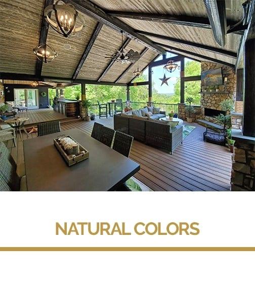 neutral colors for decks