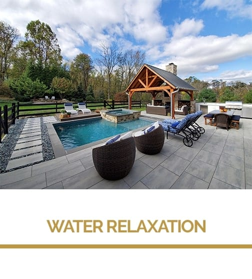 outdoor water relaxation