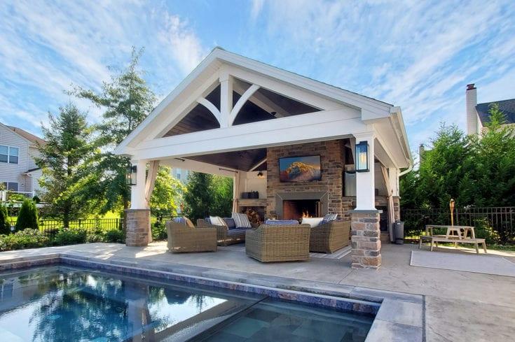 Custom Heritage Pool House – Wilmington, DE