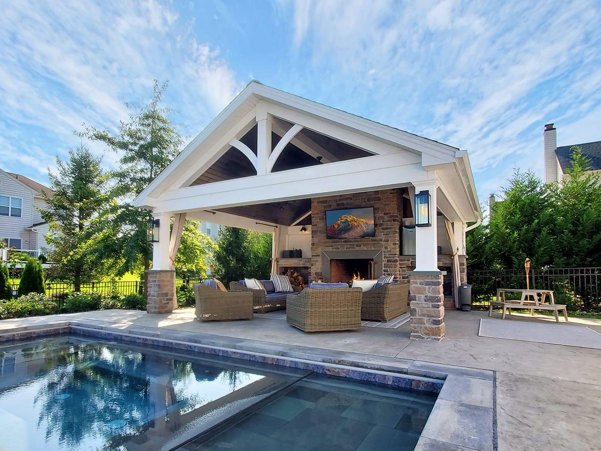 Custom Heritage Pool House - Wilmington, DE 1