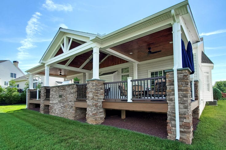 Heritage Porch / TimberTech Deck – Wilmington, DE