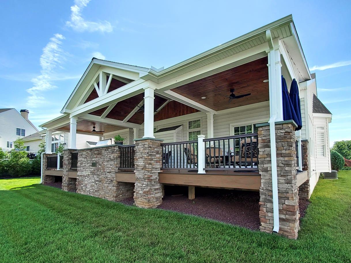 Heritage Porch / TimberTech Deck - Wilmington, DE 1