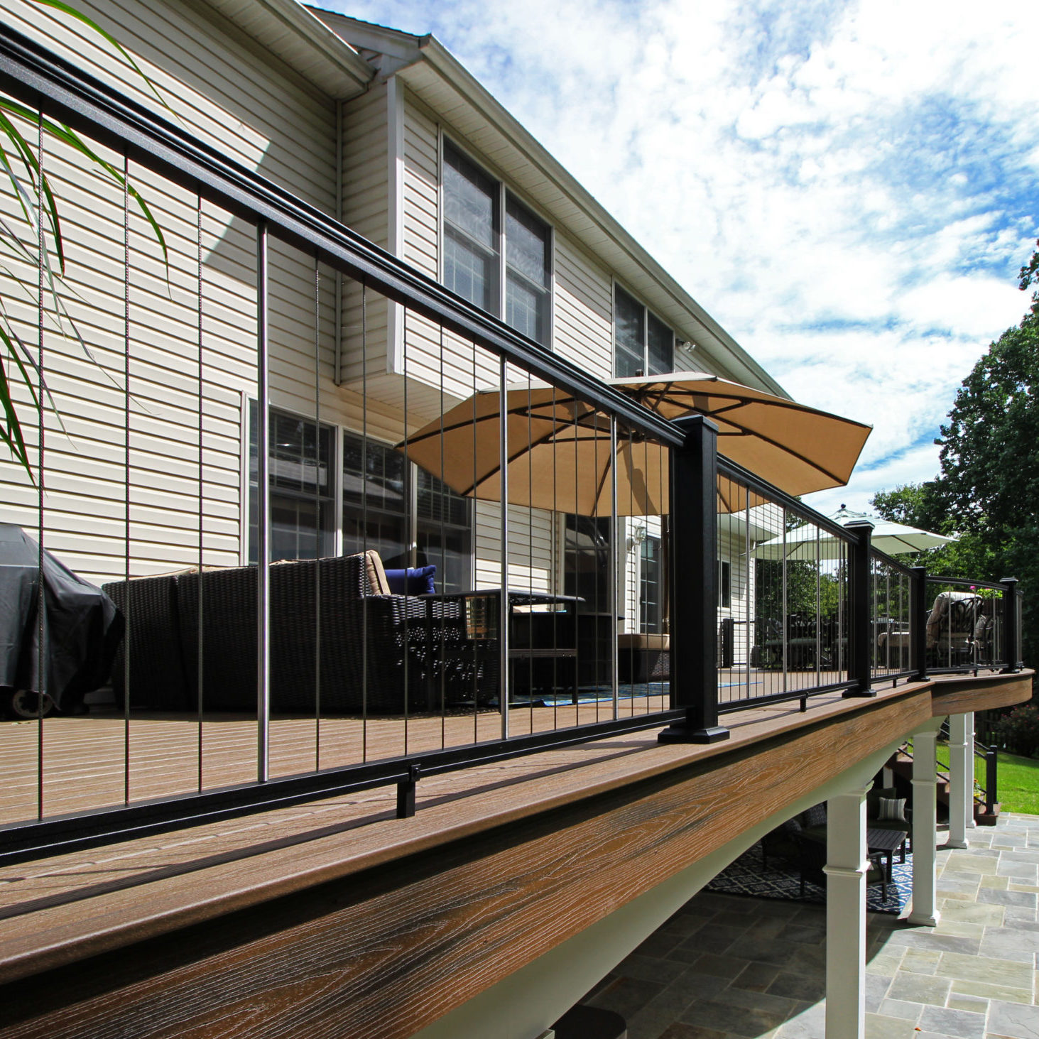 Decks - Low Maintenance Railing