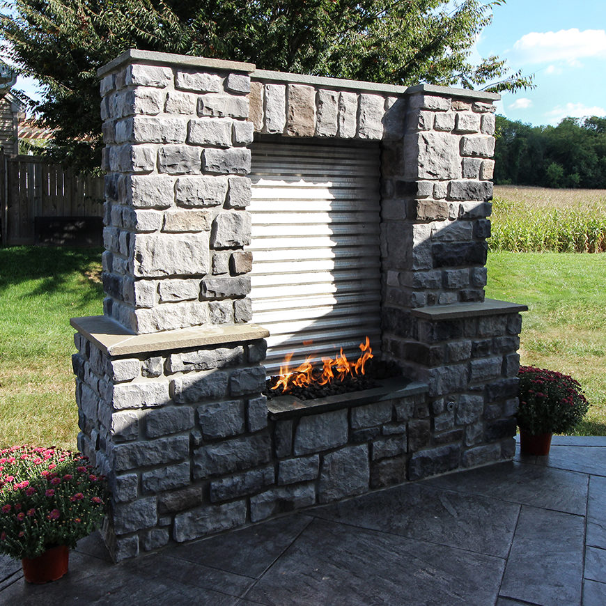 Keller - Fire and water feature