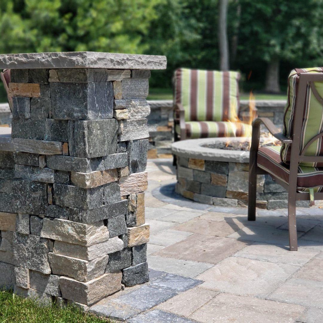 Masonry - Stone Pillar