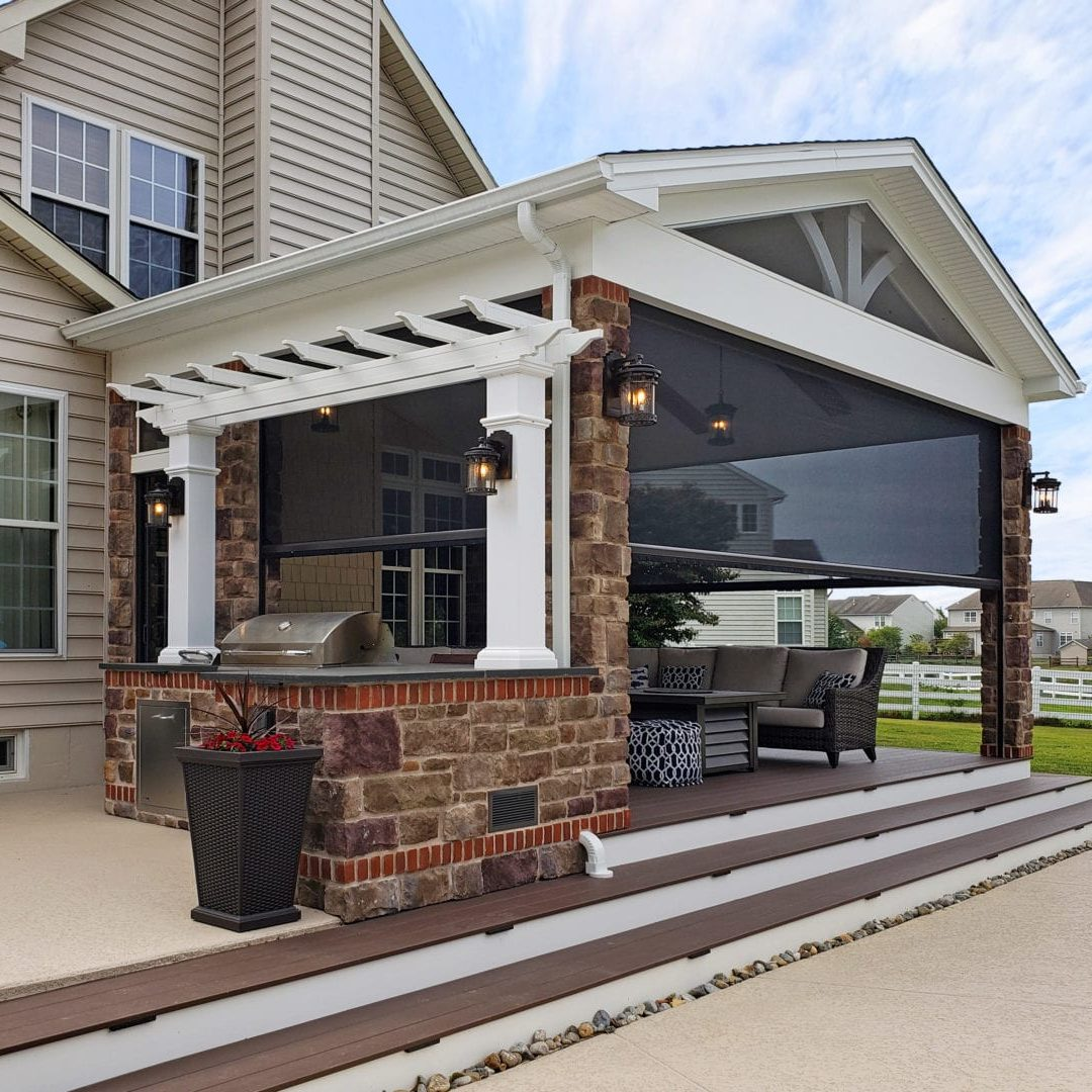 Porches - Retractable Porch