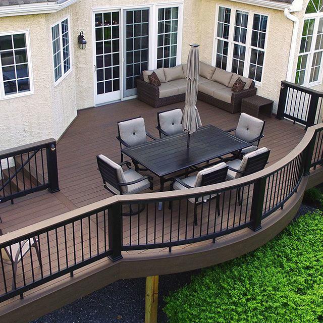 Beautiful composite deck