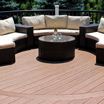 Maintenance Free Composite Decking Material